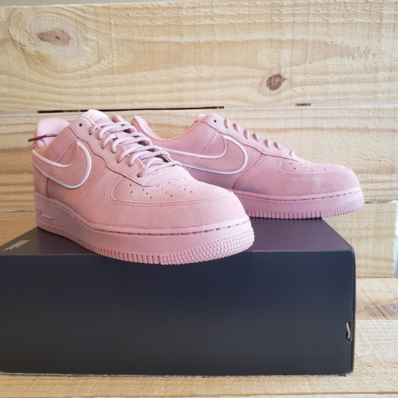 07 601 lv8 Force 1 Suede Pink New Nike aa1117 Air zSqMpVU